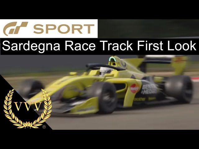 GT Sport Sardegna Race Track First Look