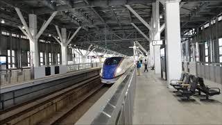 北陸新幹線 金沢駅 臨時列車『台風19号の影響』