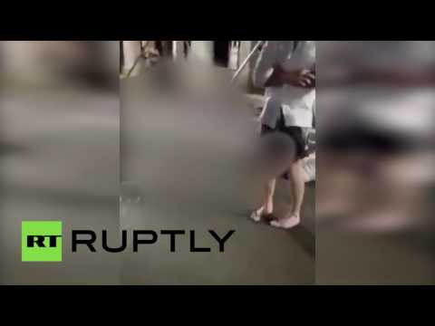 GRAPHIC VIDEO: Nice attack aftermath caught on cam (BLURRED)