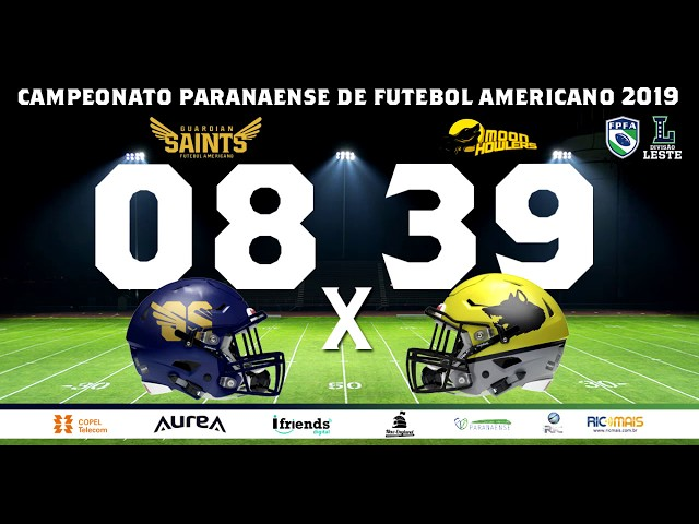 CAMPEONATO PARANAENSE 2019 - GUARDIAN SAINTS 08 x 39 MOON HOWLERS