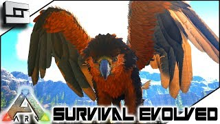 Taming a Griffin! ARK: Survival Evolved - E13 ( Ark Ragnarok Map )