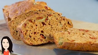 Stir & Bake Olive & Cumin Spelt Bread - Easy Recipe!