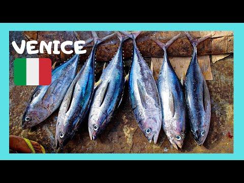 VENICE'S Very Iconic 🐟🦈 Rialto Fish Market (Pescheria)