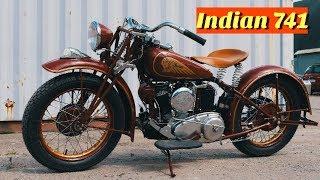 Реставрация мотоцикла INDIAN 741 SCOUT. Самый Быстрый Индиан от мотоателье Ретроцикл. thumbnail
