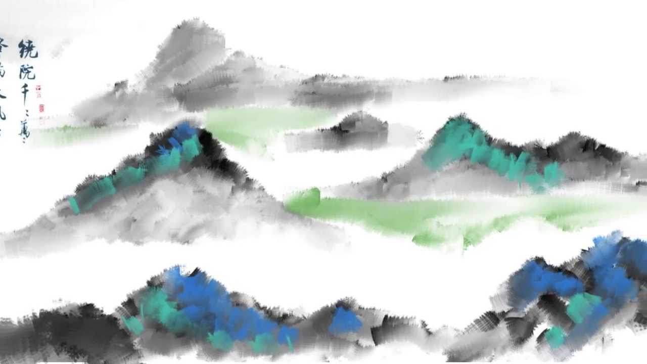 Sketchbook pro Chinese style