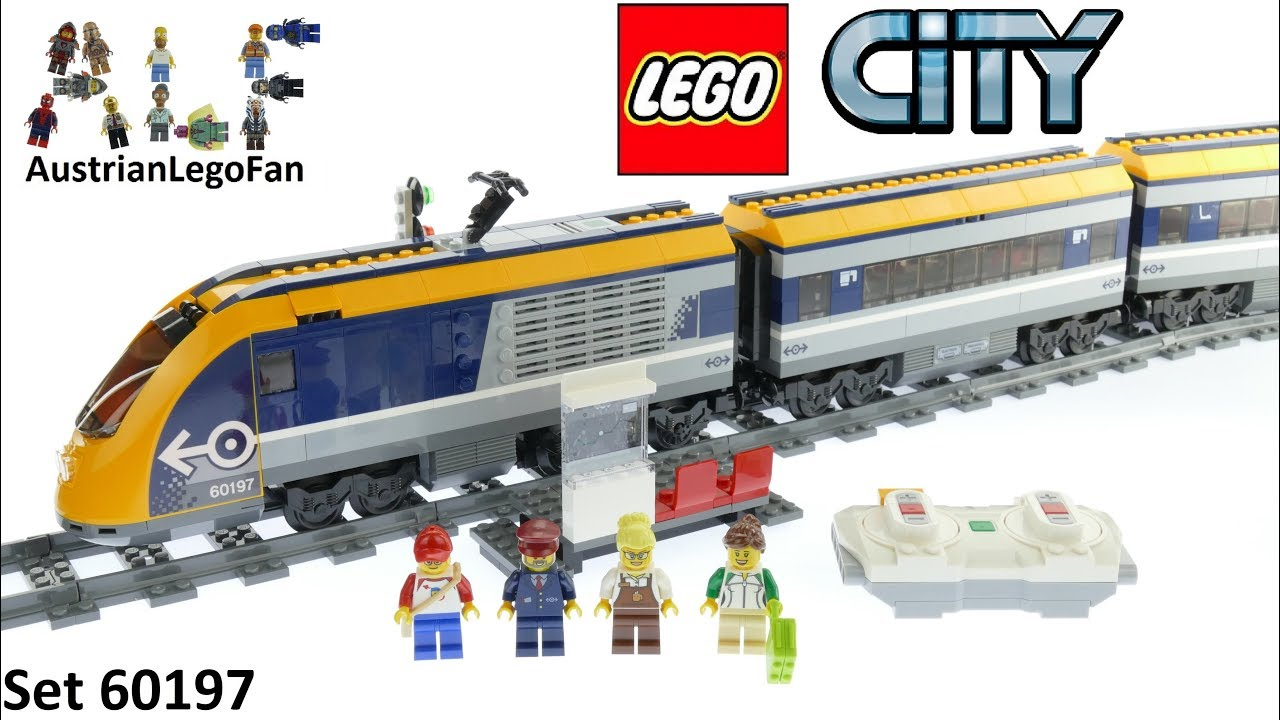 LEGO City Passenger Train ENGINE ONLY 60197 Locomotive Car Powered Up Functions