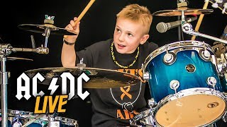 """TNT, LIVE"" Avery Drummer 6 years old & Old Buddy Jack"