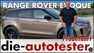 Range Rover Evoque - Probefahrt im Land Rover Kompakt SUV | 2019 | MJ 2020 | Test | Review | Deutsch