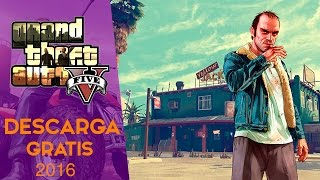 Como Descargar e Instalar Grand Theft Auto V Para PC En Español Full 1 Link