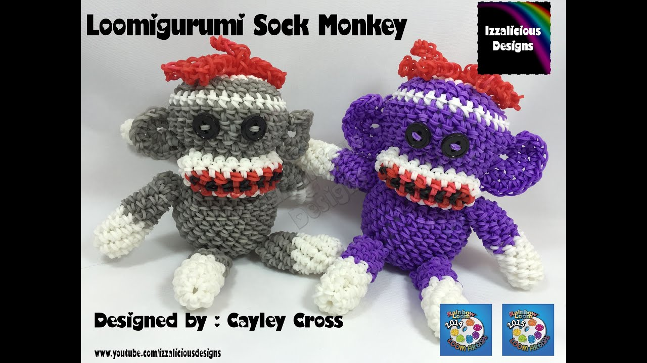 DIY Crochet Amigurumi Sock Monkey with Free Pattern | 720x1280
