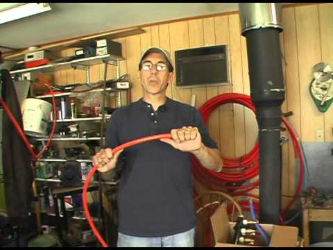 hot and cold minute types of pex tubing youtube. Black Bedroom Furniture Sets. Home Design Ideas