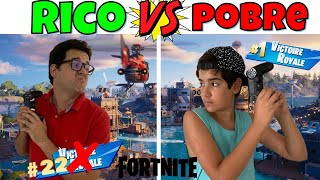 RICO VS POBRE FORTNITE NOVA TEMPORADA | PEDRO MAIA