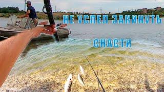 НЕ успел закинуть ДОНКИ ПРИЕХАЛА ИНСПЕКЦИЯ Рыбалка на донки в заливах водохранилища