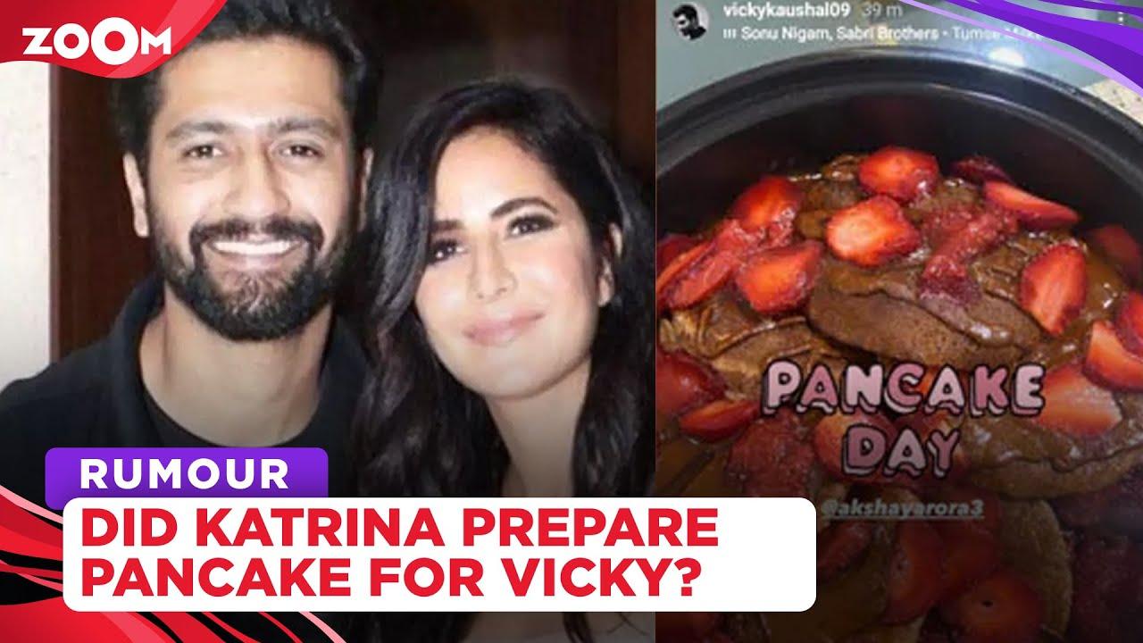 Did Katrina Kaif prepare pancakes for her rumoured boyfriend Vicky Kaushal?