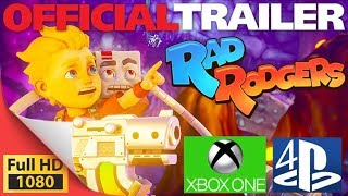 Rad Rodger - Retro platform game on PS4 XOne