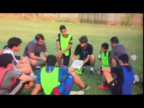 "Barcelona Soccer Academy Oman ""TV news"""