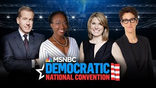 Watch: Democratic National Convention: Day 3 | MSNBC
