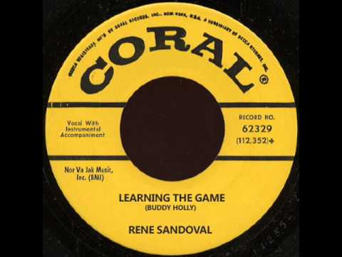 RENE SANDOVAL - LEARNING THE GAME (BUDDY HOLLY COVER)