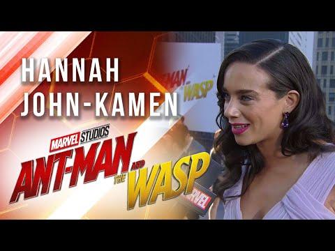 Hannah John-Kamen at Marvel Studios' Ant-Man and The Wasp Premiere