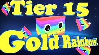 Roblox Pet Simulator 1st Golden Rainbow tier 15 pet!