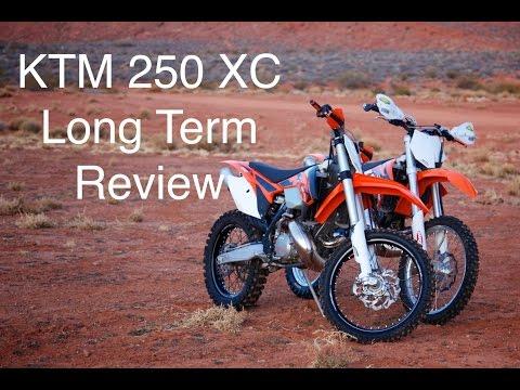 KTM 250 XC Long Term Review