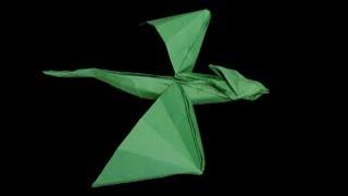 Hd Origami Flying Dragon Tutorial