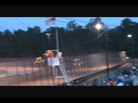 2nd Heat Race, Champion Park Speedway, Minden La, 18 June 2011