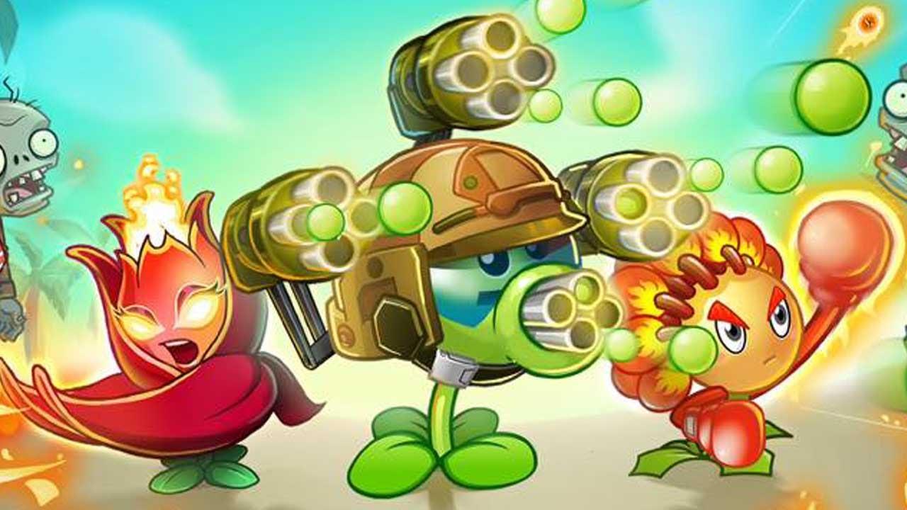 Plants vs Zombies 2 Game