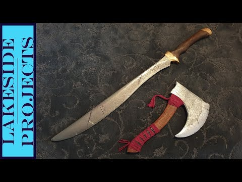 I Made This - Wooden Sword // Cosplay Build
