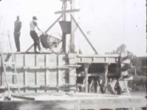 St George's College Quilmes - Construction of the Dinning Room (1960)  8mm