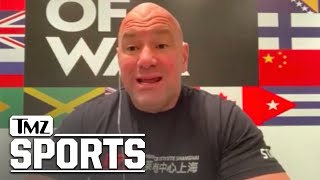 Dana White on Conor McGregor, Here's What Happens If He Loses to Poirier | TMZ Sports