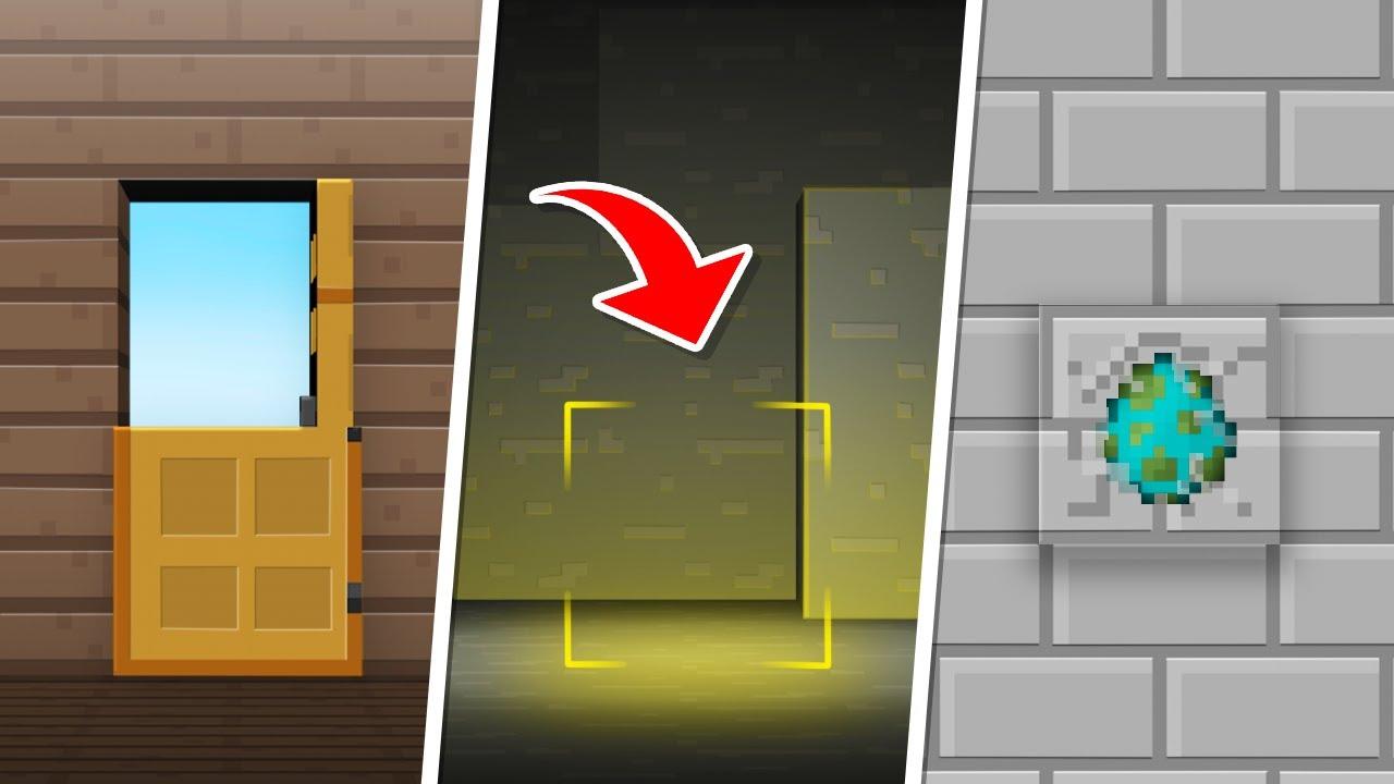 9 Minecraft Blocks with SECRETS in Minecraft 1.16!
