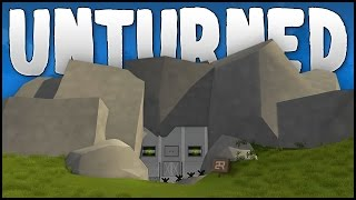 CAVE BASE! (Unturned Building)