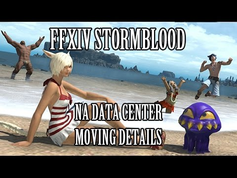 FFXIV Stormblood: NA Data Centers Moving Details
