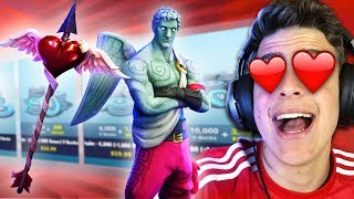 I BOUGHT CUPID'S SKIN AT FORTNITE: BATTLE ROYALE!!!! ‹ JonPlays ›