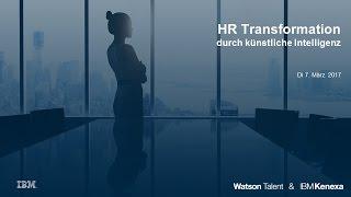Webinar: HR Transformation durch künstliche Intelligenz von IBM