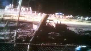 "Natural Attraction 5.0 sec C-Mod 44"" class Jump & Run Hill n Hole Mud Bog 9-1-12"