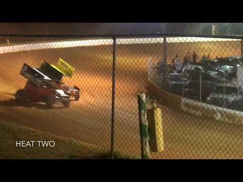 Carolina Sprint Tour At Laurens Speedway 8/03/2019