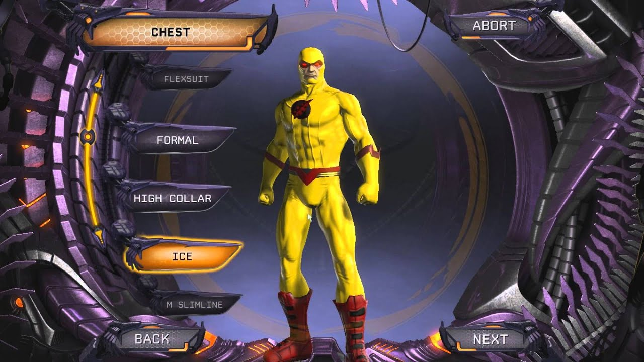 dc universe online reverse flash zoom character creation youtube