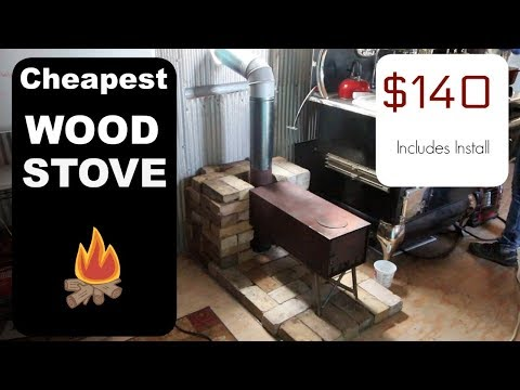 cheapest-wood-stove-installation-for-tiny-house-ever!