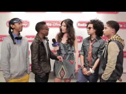 Mindless Behavior Interview with Radio Disney