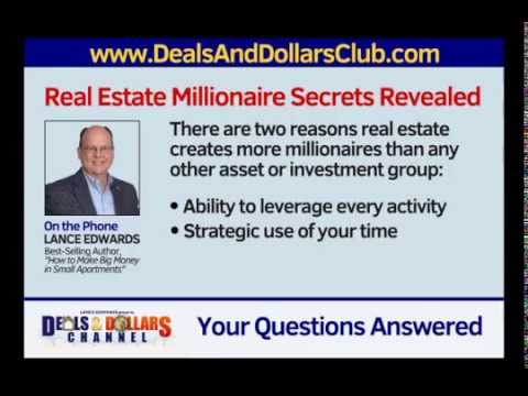 Lance Edwards: Millionaire Real Estate Secrets Revealed!