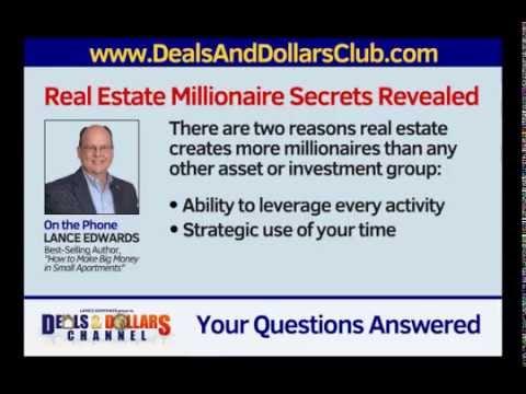 Lance Edwards: Millionaire Real Estate Secrets Revealed!
