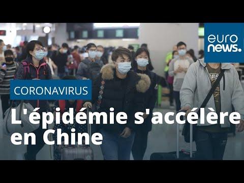 En Chine, l'épidémie de coronavirus s'accélère