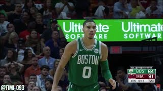 Jayson Tatum Highlights vs Miami Heat (18 pts, 7 reb, 4 ast)