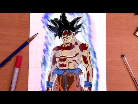 Comment Dessiner La Nouvelle Forme De Goku Youtube