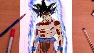 Comment dessiner la nouvelle forme de Goku !?