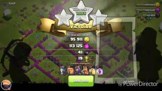 Test du sorcier de glace sur clash of clans !
