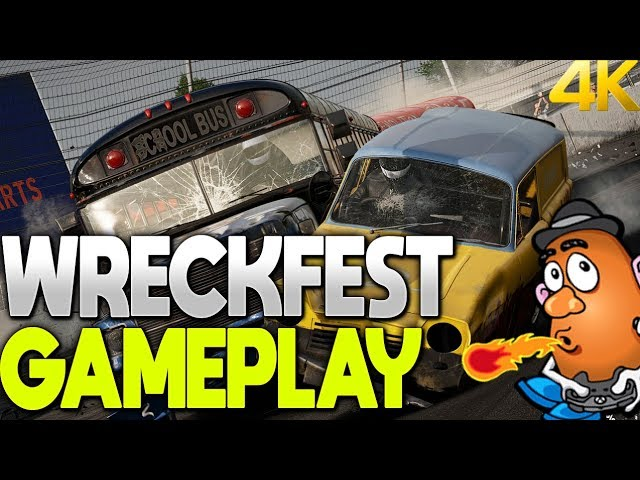 The Great Escape | Wreckfest | Xbox One X 4K Gameplay