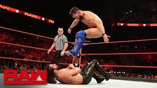 Seth Rollins vs. Finn Bálor: Raw, April 2, 2018